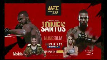 ESPN+ TV Spot, 'UFC 239: Jones v. Santos' Song by Donnie Daydream - Thumbnail 10