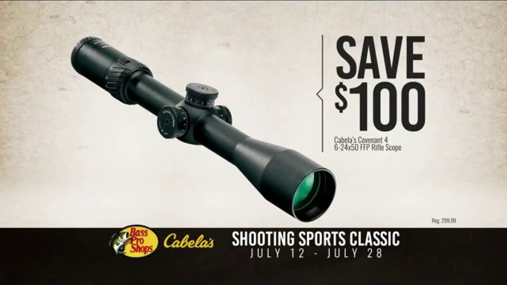 Bass Pro Shops Shooting Sports Classic TV Commercial, 'Rifle Scopes'