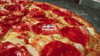 Papa John's $4 $6 $8 Deals TV Spot, 'Pick the Size You Love'