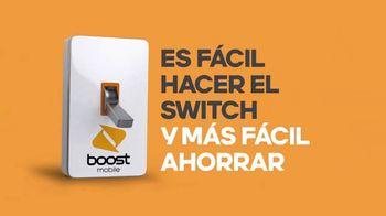Boost Mobile TV Spot, 'Haz el switch a Boost Mobile y obtén 4 líneas por solo $100 dólares al mes.' [Spanish] - Thumbnail 10