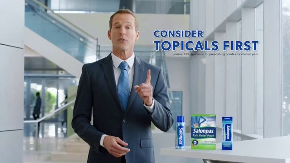 Salonpas TV Commercial, 'First Line Pain Fighters'