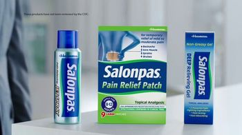 Salonpas TV Spot, 'First Line Pain Fighters' - Thumbnail 4