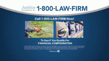 1-800-LAW-FIRM TV Spot, 'Roundup and Lymphoma' - Thumbnail 2