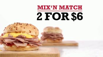 Arby's 2 for $6 Mix 'N Match TV Spot, 'Sandwich Pals' Song by YOGI - Thumbnail 4