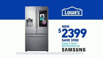Lowe's TV Spot, 'Do It Right: Samsung Family Hub Refrigerator' - Thumbnail 10