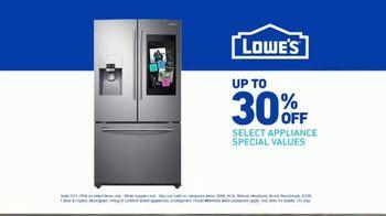 Lowe's TV Spot, 'Do It Right: Samsung Family Hub Refrigerator' - Thumbnail 9