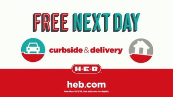 H-E-B Curbside & Delivery TV Spot, 'Free Next Day' - Thumbnail 9