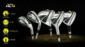 Tour Edge Golf HL4 TV Spot, 'Custom Fit Innovation'