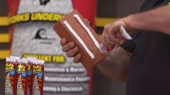 Flex Glue Clear TV Spot, 'Rubberized Glue' - Thumbnail 1