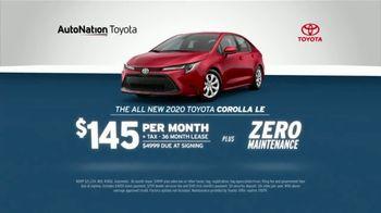AutoNation July 4th Savings TV Spot, 'Reputation Score: 2020 Toyota Corolla LE' - Thumbnail 3