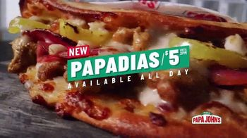 Papa John's Papadias TV Spot, 'Best Tastes Now in Sandwiches'