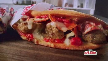 Papa John's Papadias TV Spot, 'Best Tastes Now in Sandwiches' - Thumbnail 4