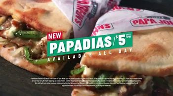 Papa John's Papadias TV Spot, 'Best Tastes Now in Sandwiches' - Thumbnail 7