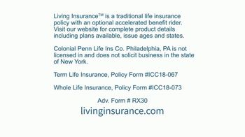 Colonial Penn Living Insurance TV Spot, 'Moment of Relaxation' - Thumbnail 3