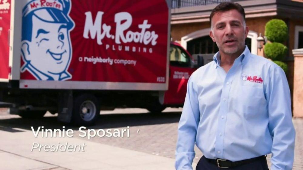 Mr. Rooter Plumbing TV Commercial, 'Repair Job'