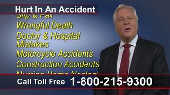 Lawyers Group TV Spot, 'Money for Your Injuries'