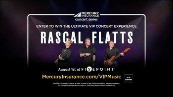 Mercury Insurance Concert Series TV Spot, 'Rascal Flatts' - Thumbnail 1