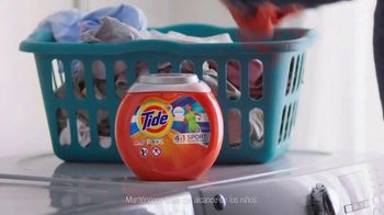 Tide PODS Plus Febreze Sports Odor Defense TV Spot, 'Pubertad' [Spanish] - Thumbnail 6