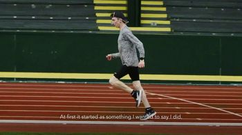 Nike TV Spot, 'Sport Changes Everything: Justin Gallegos' - 128 commercial airings