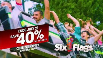 Six Flags Summer Sale TV Spot, 'Quench Your Thirst' - Thumbnail 3