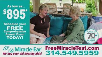 Miracle-Ear TV Spot, 'Grandma: Schedule Your Annual Exam' - Thumbnail 3