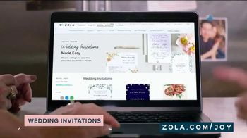 Zola TV Spot, 'Wedding Invitations' - Thumbnail 3
