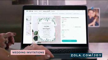 Zola TV Spot, 'Wedding Invitations' - Thumbnail 4