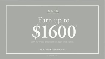 Cafe Appliances TV Spot, 'The Customizable Appliance: Earn $1600' - Thumbnail 8