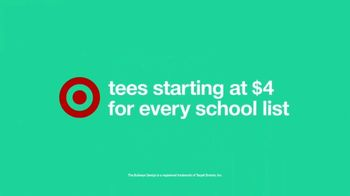 Target TV Spot, 'School List: $4 Tees' - Thumbnail 10
