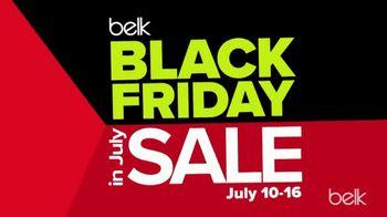 Belk Black Friday in July Sale TV Spot, 'Diamond Hoops and Luggage'