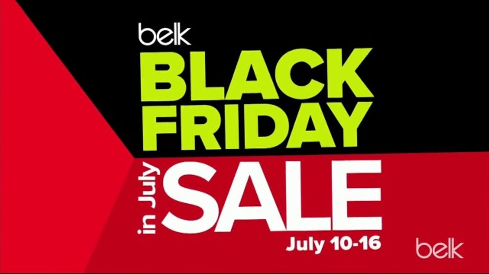 Belk Black Friday in July Sale TV Commercial, '500 Doorbusters' - Video
