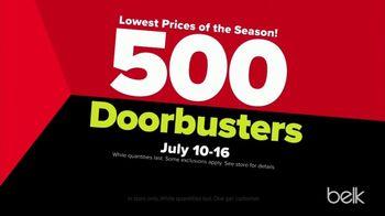 Belk Black Friday in July Sale TV Spot, '500 Doorbusters' - Thumbnail 3