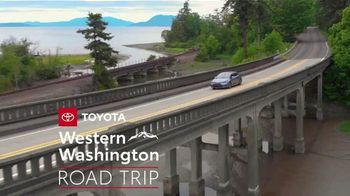 Toyota TV Spot, 'Western Washington Road Trip: Advanced Safety Features' Feat. Danielle Demski and Ethan Erickson [T2] - Thumbnail 2