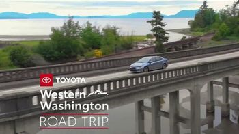 Toyota TV Spot, 'Western Washington Road Trip: Advanced Safety Features' Feat. Danielle Demski and Ethan Erickson [T2] - 6 commercial airings