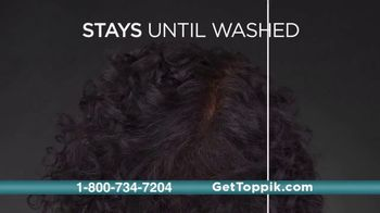 Toppik TV Spot, 'Full Hair Instantly: $39.99' - Thumbnail 6