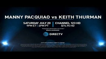 DIRECTV TV Spot, 'Manny Pacquiao vs. Keith Thurman' - Thumbnail 9