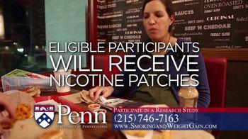 University of Pennsylvania TV Spot, 'Seeking Smokers'