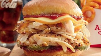 Arby's Smokehouse BBQ Meal TV Spot, 'Pulled Pork or Chicken: $5' Song by YOGI - Thumbnail 1