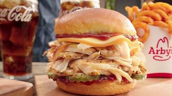 Arby's Smokehouse BBQ Meal TV Spot, 'Pulled Pork or Chicken: $5' Song by YOGI