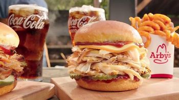 Arby's Smokehouse BBQ Meal TV Spot, 'Pulled Pork or Chicken: $5' Song by YOGI - Thumbnail 2