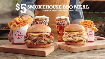 Arby's Smokehouse BBQ Meal TV Spot, 'Pulled Pork or Chicken: $5' Song by YOGI - Thumbnail 4