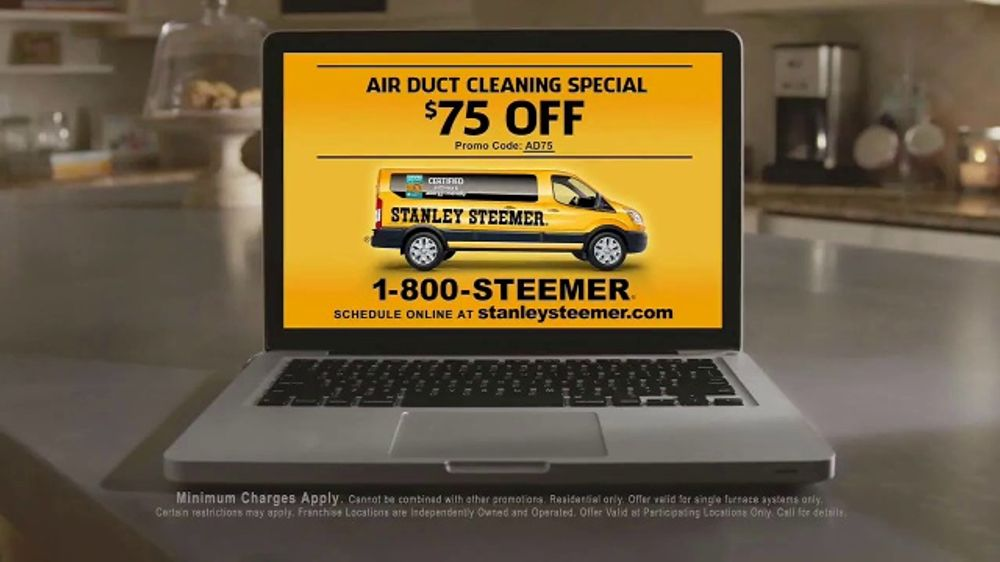 Stanley Steemer Air Duct Cleaning Special Tv Commercial