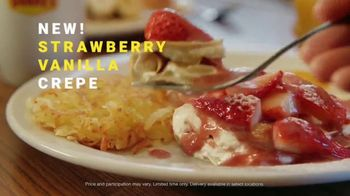 Denny\'s TV Spot, \'Crepes Available with Denny's on Demand!\'