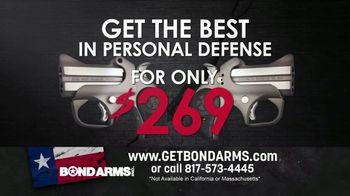 Bond Arms Inc. Roughneck TV Spot, 'Personal Defense'