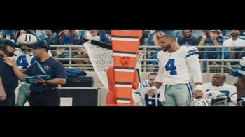 DIRECTV NFL Sunday Ticket TV Spot, 'Closer to the Action' Featuring Dak Prescott - Thumbnail 4