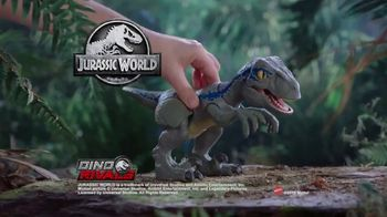 Jurassic World Dino Rivals Primal Pal Blue TV Spot, 'Become the Ultimate Raptor Trainer' - Thumbnail 9