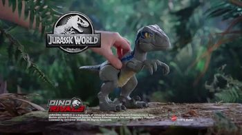 Jurassic World Dino Rivals Primal Pal Blue TV Spot, 'Become the Ultimate Raptor Trainer' - Thumbnail 8