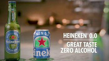 Heineken 0.0 TV Spot, 'FX Pours: Can Be Enjoyed Anywhere' Featuring Adam Gertler