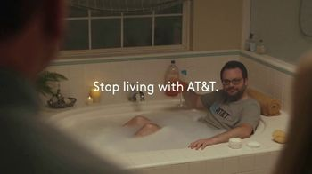 XFINITY Internet TV Spot, 'Don't Live With AT&T: Bath Time' - Thumbnail 9