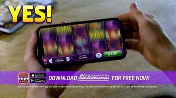 Slotomania TV Spot, 'Say No To Boring Buttons'